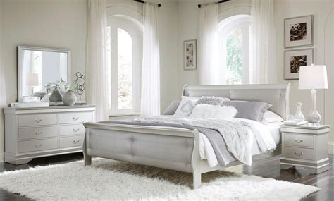 Bedroom Set by Marley Silver Bedroom Set By Global Furniture
