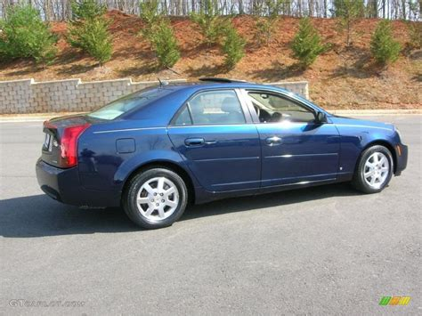 Cadillac Cts Blue by 2007 Blue Chip Cadillac Cts Sedan 27414036 Gtcarlot