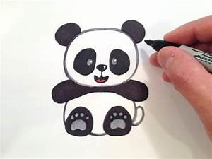 Cute Drawings Of Pandas - DRAWING ART IDEAS