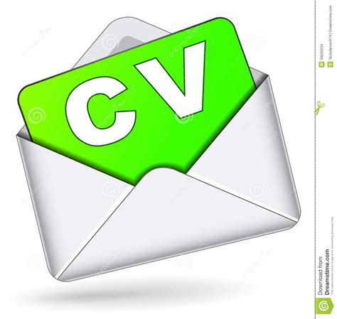 turquoise and orange area vector cv by mail icon stock illustration image 39033234