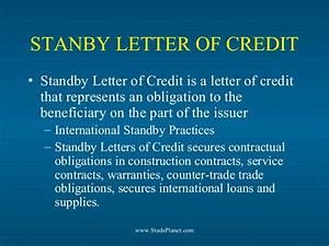 international trade finance With loan against letter of credit