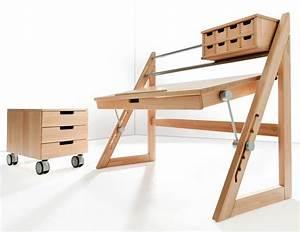 Schreibtisch Kinder Höhenverstellbar : kinderschreibtisch h henverstellbar selber bauen ~ Lateststills.com Haus und Dekorationen