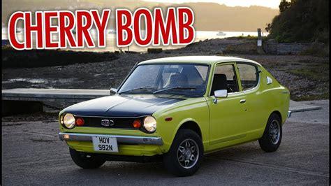 Datsun 100a by 1975 Datsun 100a Cherry Cherry Bomb Sound Test