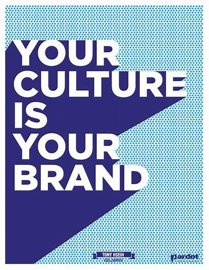 Culture Quotes Marketing Poster Business Brand Quote