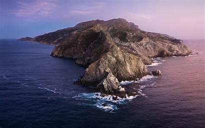 Catalina Macos Mac 4k Os Apple Island