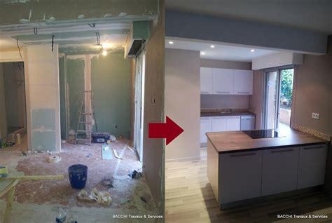 faux plafond cuisine ouverte cuisine ouverte sur le séjour