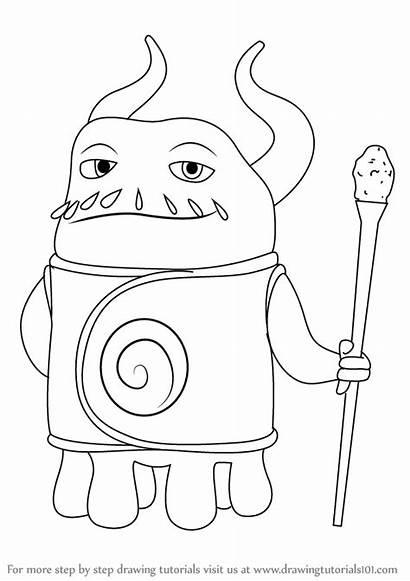 Draw Captain Smek Drawing Step Drawings Movies
