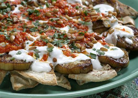 recipe carousels fattet al aubergine california cookbook