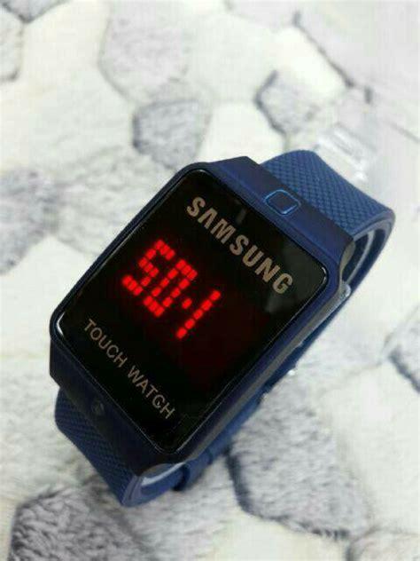 Jam Tangan Samsung Rubber 1 jual beli jam tangan samsung led touch baru