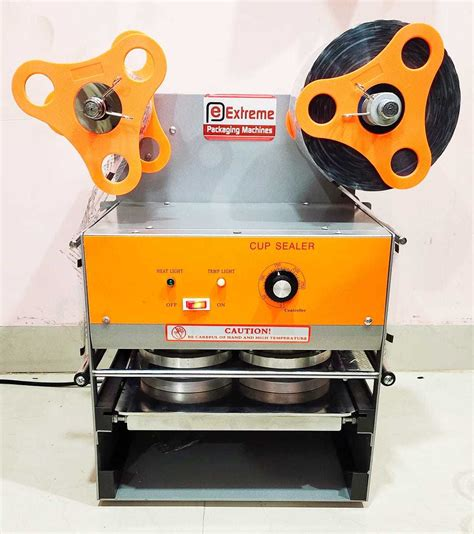 cup sealing machine double head automatic manufacturercup sealing machine double head