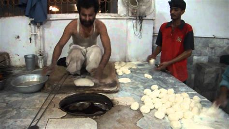 Making Naan At A Restaurant Youtube