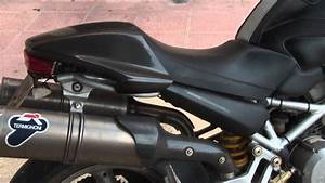 Ducati Monster 620 Dark I E   Termignoni Sound Test