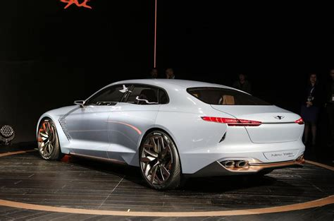 Genesis New York Concept Challenges Bmw 3-series