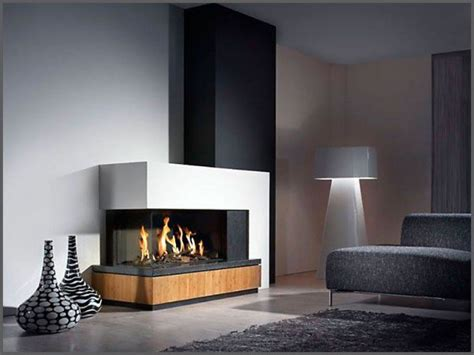 contemporary corner gas fireplace modern fireplace designs trendy unique option for