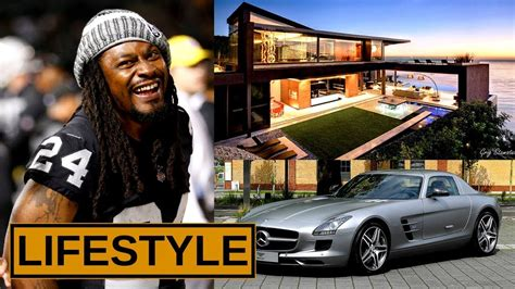 marshawn lynch lifestyle  income cars houses net
