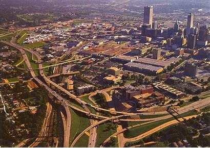 Oklahoma Tulsa Downtown Sky Ok Bowl Travel