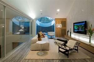 Hyderabad house by rajiv saini and associates homedsgn for Living room furniture hyderabad