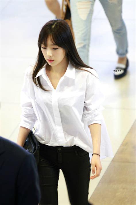reddit blouse white dress shirt taeyeon snsd