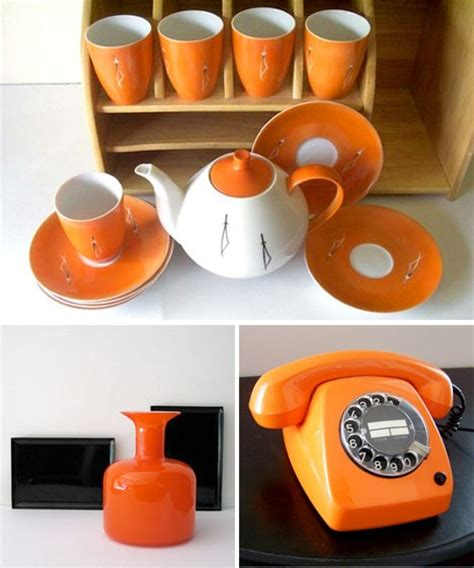 1000+ Images About Orange Kitchen On Pinterest  Orange