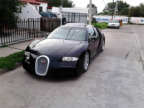 Even early 'basic' versions cost £1 million and the endless special editions probably sell for several times that. For Sale: Bugatti Replica in Mexico - GTspirit