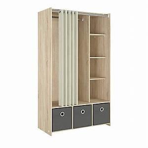 Armoire 90 Cm Largeur : soldes armoire dressing et placard pas cher ~ Teatrodelosmanantiales.com Idées de Décoration
