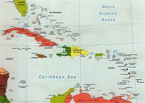 Large Caribbean Island Maps