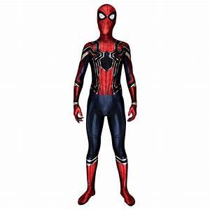 Iron Spiderman Avengers: Infinity War 2018 Spider-Man ...  Spiderman