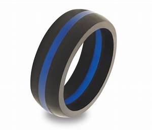 fresh rubber wedding rings for men thin blue line With rubber wedding rings for men