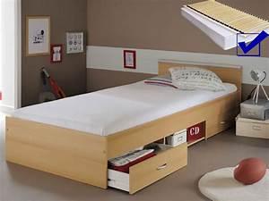 Bett Buche 90x200 : jugendbett bett 90x200 buche nb lattenrost matratze bettkasten leader 2 1 ebay ~ Indierocktalk.com Haus und Dekorationen