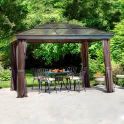 Allen Roth Patio Furniture by Gazebo Penguin 43204 14 Ft X 10 Ft Gazebo Lowe S Canada