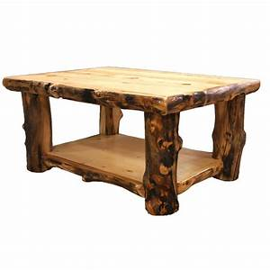 log coffee table country western rustic cabin wood table With log cabin coffee table
