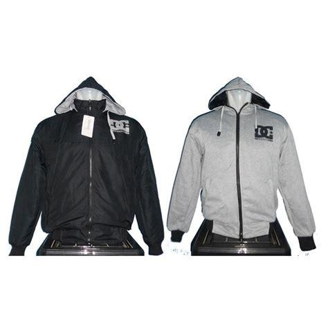 Jaket Parasut Nike Jaket jual jaket parasut bolak balik dc hitam abu di lapak jaket
