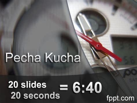 Pecha Kucha Powerpoint Template by What Is Pecha Kucha Presentation Technique