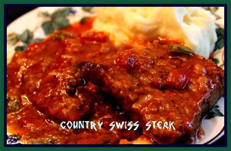 Sweet Tea And Cornbread Country Swiss Steak