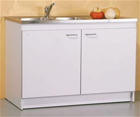 evier de cuisine avec meuble sibo meuble de cuisine sous évier et kitchenette