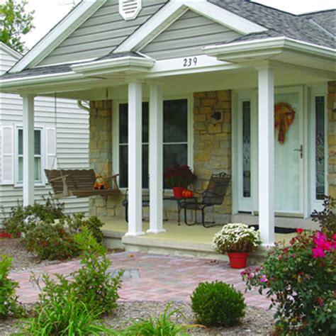 aluminum porch columns indiana windows doors exterior columns