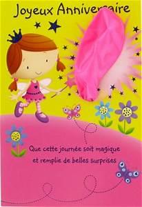 Carte Anniversaire Pour Enfant : carte anniversaire pour petite fille acheter une carte anniversaire vive la carterie 19708a ~ Melissatoandfro.com Idées de Décoration
