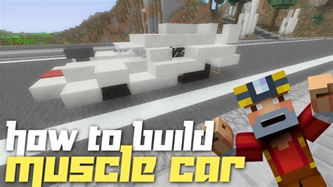 minecraft xbox    build  muscle car youtube