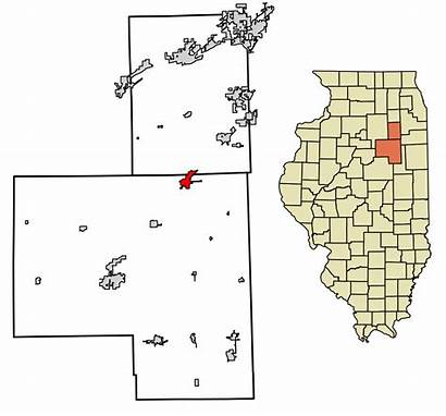 Dwight Svg Illinois Highlighted Unincorporated Grundy Incorporated