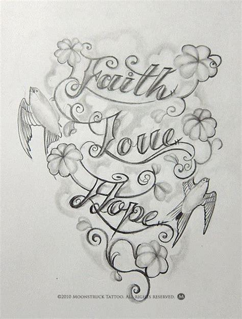 faith love hope tattoos faith hope love tattoo tattoo