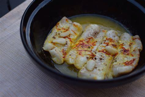 safran cuisine le dos de cabillaud au safran lovalinda