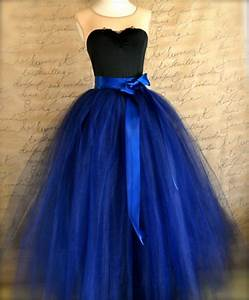 full length navy tulle skirt navy tulle lined with black With how to make a long tulle skirt for wedding dress
