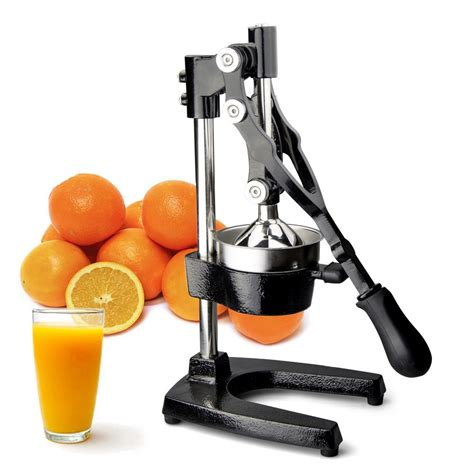 juicer citrus juice press commercial hand manual squeezer fruit extractor lemon orange cast iron oranges walmart duty heavy juicers lemons