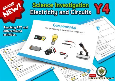 Year 4 Science  Electricity  Constructing A Simple Circuit  Lesson 2 Grammarsaurus