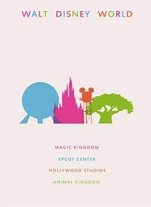 Walt, Disney, World, Travel, Poster, By, Lunamis, On, Deviantart
