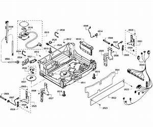 Bosch Model Shx53t55uc  01 Dishwasher Genuine Parts