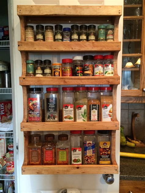 More Exciting Ideas Spice Rack For Pantry Door