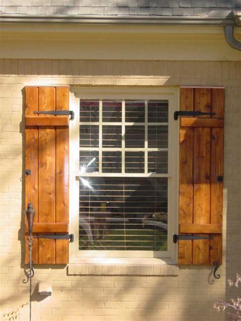 b d shutters cedar shutters on shutters exterior shutters