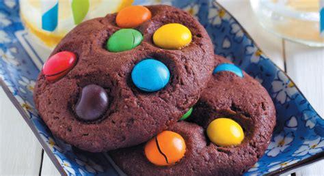 credit cuisine cookies smarties recette facile enfant gourmand