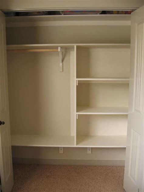 Narrow Closet Shelving by Closet Shelving Diy I So Need To Do This To A Few Of My